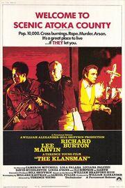 1974 - The Klansman Movie Poster 1