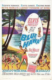 1961 - Blue Hawaii Movie Poster