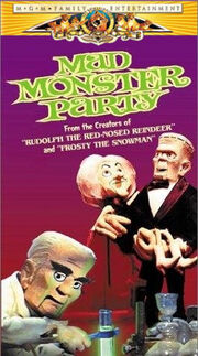 Mad monster party mgm vhs