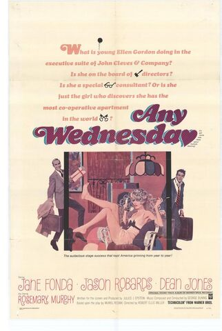 File:1966 - Any Wednesday Movie Poster.jpg