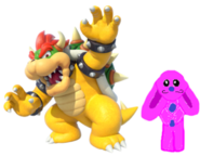 Bowser and Marie's husband