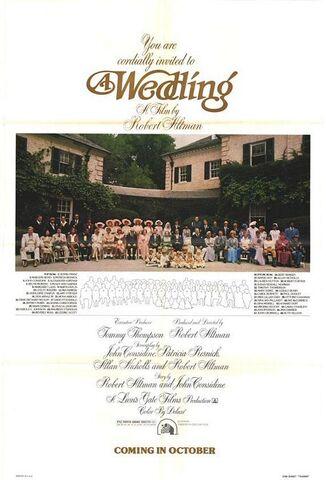 File:1978 - A Wedding Movie Poster.jpg