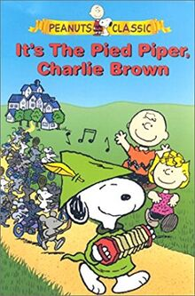 Its The Pied Piper Charlie Brown 2000 VHS