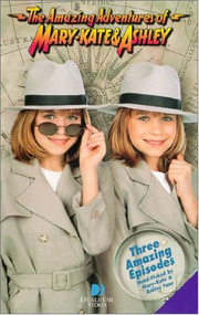 The Amazing Adventures Of Mary-Kate And Ashley 2002 VHS
