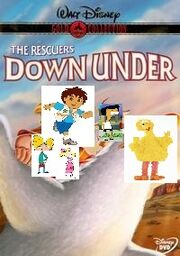 The Rescuers Down Under Featuring Arnold and Helga