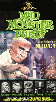 Mad monster party mgm australia vhs