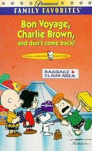 Bon Voyage Charlie Brown VHS