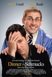 2010 - Dinner for Schmucks Movie Poster