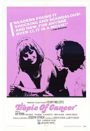 1970 - Tropic of Cancer Movie Poster