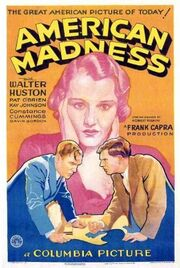 1932 - American Madness Movie Poster