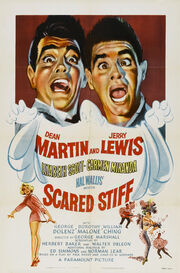 1953 - Scared Stiff Movie Poster