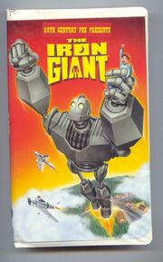 The Iron Giant 1992 VHS