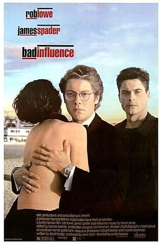 File:1990 - Bad Influence Movie Poster.jpg