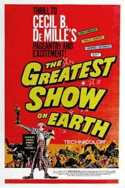 1952 - The Greatest Show on Earth Movie Poster 2