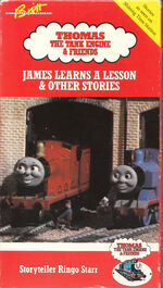 1990 VHS James Learns A Lesson