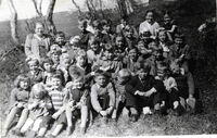 Finnfjord 1950s. Sunday School picture