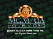MGM-UA Home Video Copyright Screen (1993 Variant)