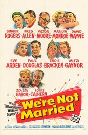 1952 - Were's Not Married Movie Poster
