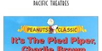 Opening To It's The Pied Piper, Charlie Brown Pacific Theatres (1999)