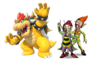 Bowser, Sly and Gobbo