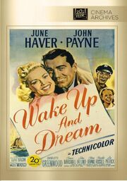 1946 - Wake Up and Dream DVD Cover (2013 Fox Cinema Archives)