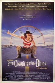1994 - Even Cowgirls Get the Blues Movie Poster