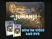Jumanji Now on VHS and DVD Preview