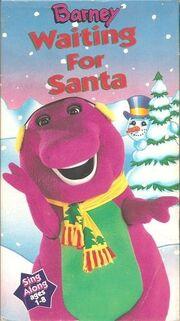 Barney waiting for santa vhs