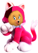 Cat tessie bear