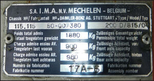 IMA Mercedes Rode Kruisplein Mechelen