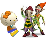 Mimmy, Sly and Gobbo