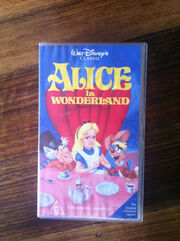 Alice in wonderland australian vhs
