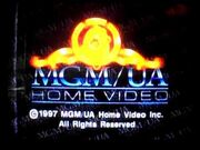 MGM UA Home Video Rainbow Copyright Scroll 1997
