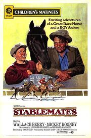 1938 - Stablemates Movie Poster