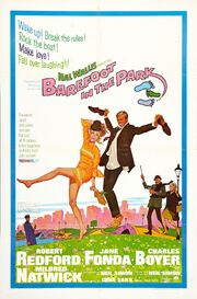1967 - Barefoot in the Park Movie Poster