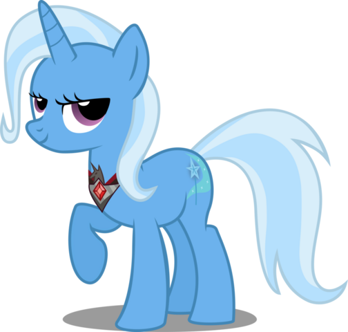 File:S3 spoiler trixie with alicorn amulet vector by red pear-d5aubfx.png