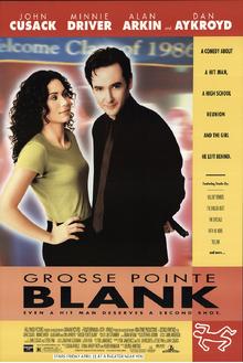 Grosse Pointie Blank (1997) Poster