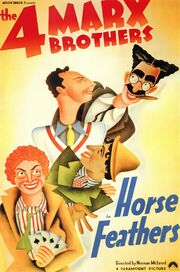 1932 - Horse Feathers Movie Poster