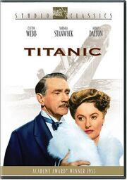 1953 - Titanic DVD Cover (2003 Fox Studio Classics)