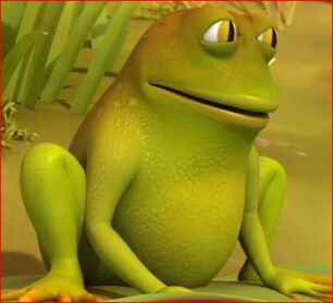 Croaker the Frog (Maya the Bee)