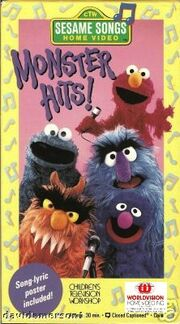 Monster hits worldvision vhs