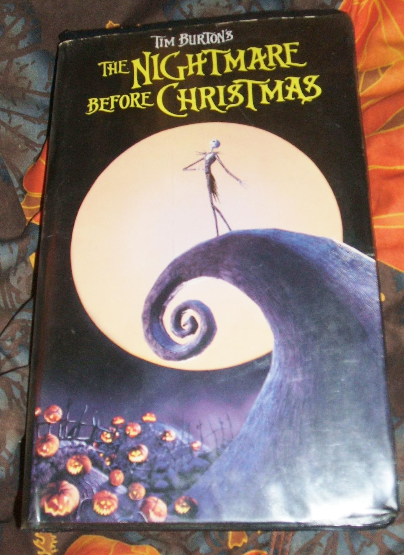 Opening To The Nightmare Before Christmas 1994 VHS (Paramount ...