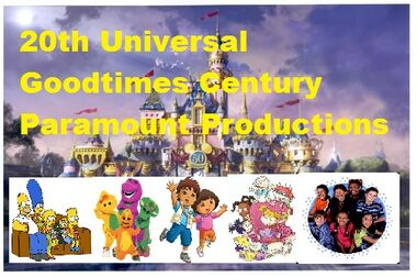 20th Universal Goodtimes Century Paramount Productions