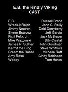 E.b. the kindly viking cast list