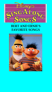 Bert and Ernie's Favorite Songs Cover