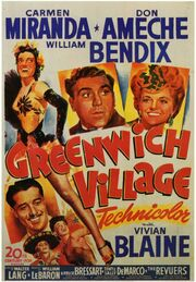 1944 - Greenwich Village Movie Poster