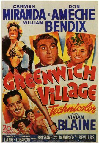 File:1944 - Greenwich Village Movie Poster.jpg