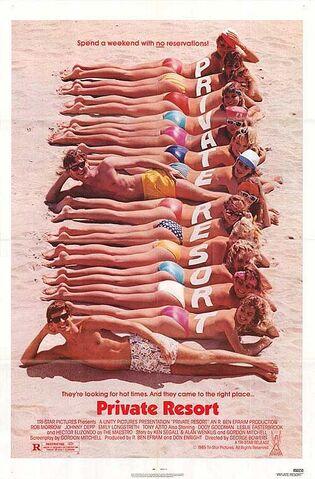File:1985 - Private Resort Movie Poster.jpg
