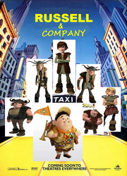 Russell and Company Features Hiccup Astrid Ruffnut Tuffnut Snotlout and Fishlegs