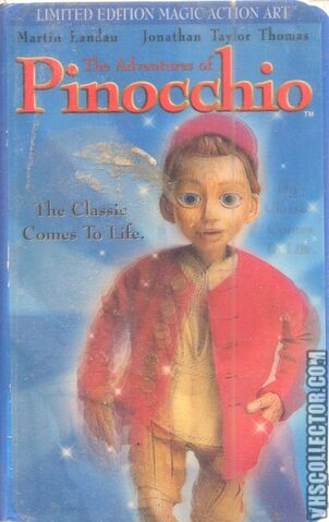 File:The Adventures Of Pinocchio VHS Front Cover.jpeg